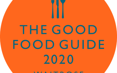 One88 features in The Good Food Guide for the third year running